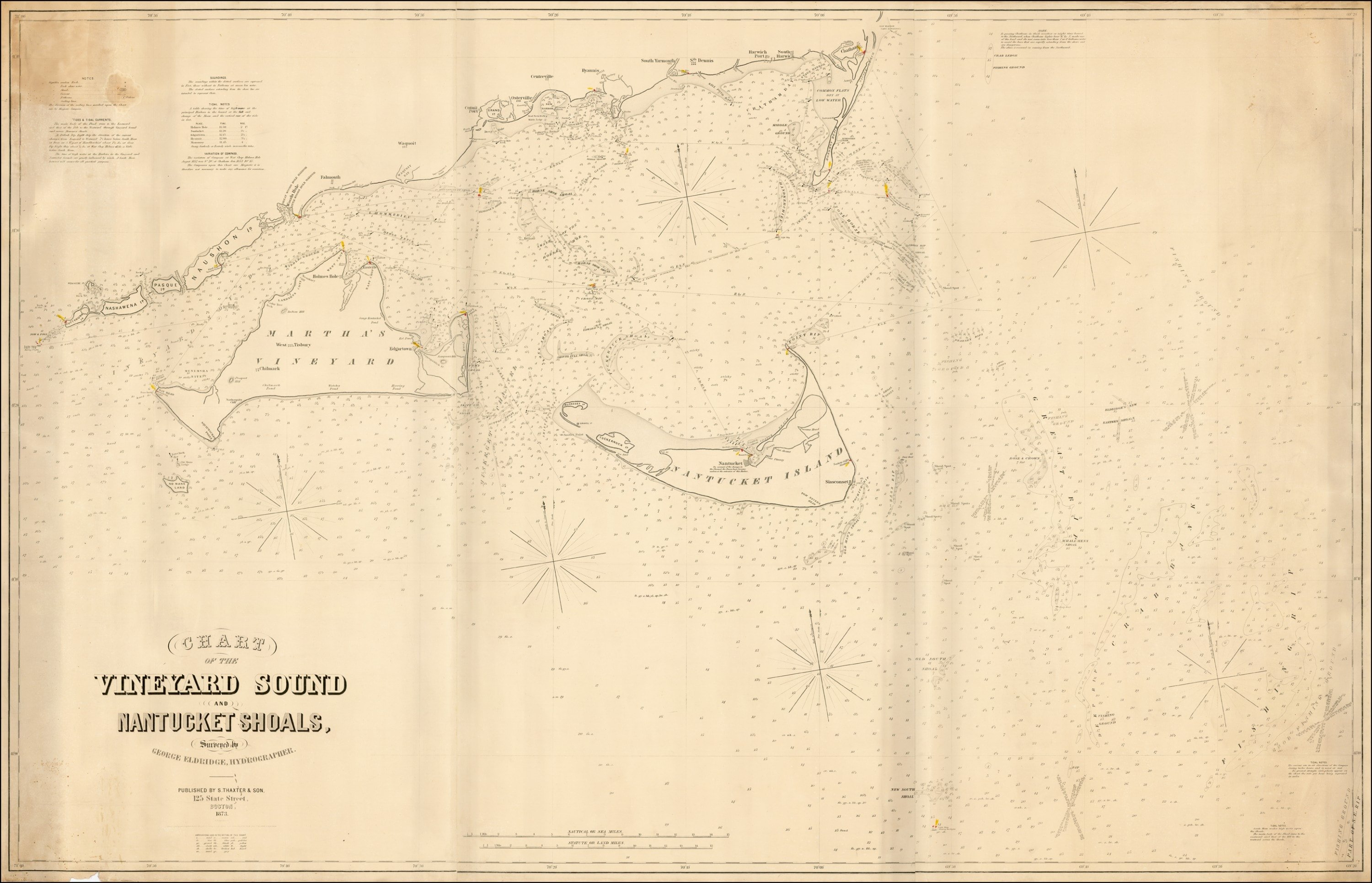 Classic chart of the waters off marthas vineyard and nantucket classic chart of the waters off marthas vineyard and nantucket nvjuhfo Image collections