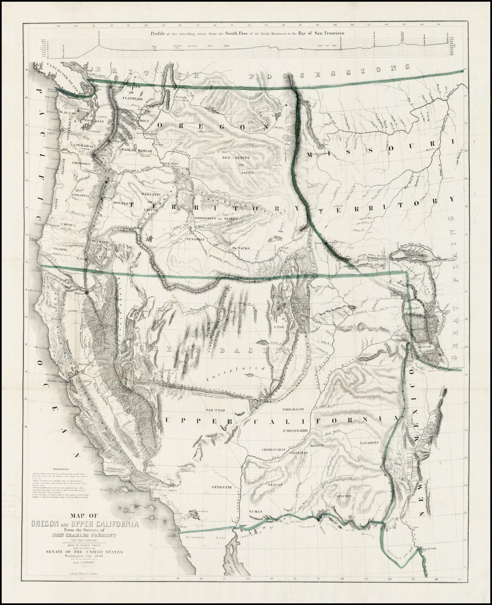 A classic California Gold Rush map - Rare & Antique Maps