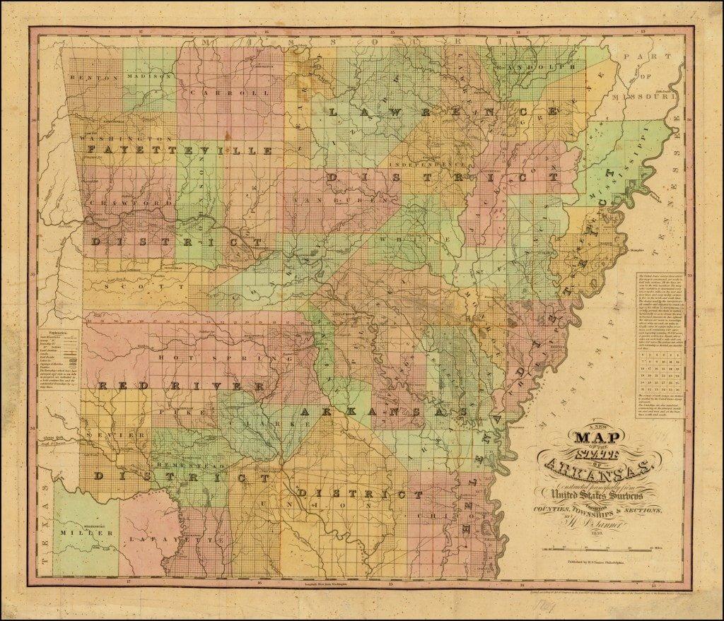 A landmark in the mapping of Arkansas - Rare & Antique Maps on map of connecticut, harrison arkansas, map of idaho, texarkana arkansas, map of north carolina, rivers in arkansas, map of georgia, map of michigan, map of texas, osceola arkansas, map of new jersey, map of ohio, russellville arkansas, ash flat arkansas, map of alabama, map of colorado, google maps arkansas, piggott arkansas, murfreesboro arkansas, fairfield bay arkansas, jonesboro arkansas, map of africa, dewitt arkansas, ozark arkansas, fort smith arkansas, map of hawaii, map of new york, map of alaska, map of illinois, white river arkansas, england arkansas, map of florida, cities in arkansas, helena arkansas, map of arizona, map of virginia, map of delaware, waldron arkansas, west memphis arkansas,