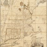 Rare 1759 edition of Map of the Most Inhabited Part of New England