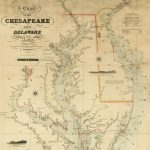 Fielding Lucas, Jr. / Engraved by John and William W. Warr / [Sold by] Hagger & Brother, A Chart of the CHESAPEAKE AND DELAWARE Bays. Baltimore: Fielding Lucas, Jr., [1832] / copyright 1852 / 1862.