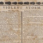 Anonymous, VIOLENT STORM. Boston, October 15, 1804. Boston, [late October] 1804.