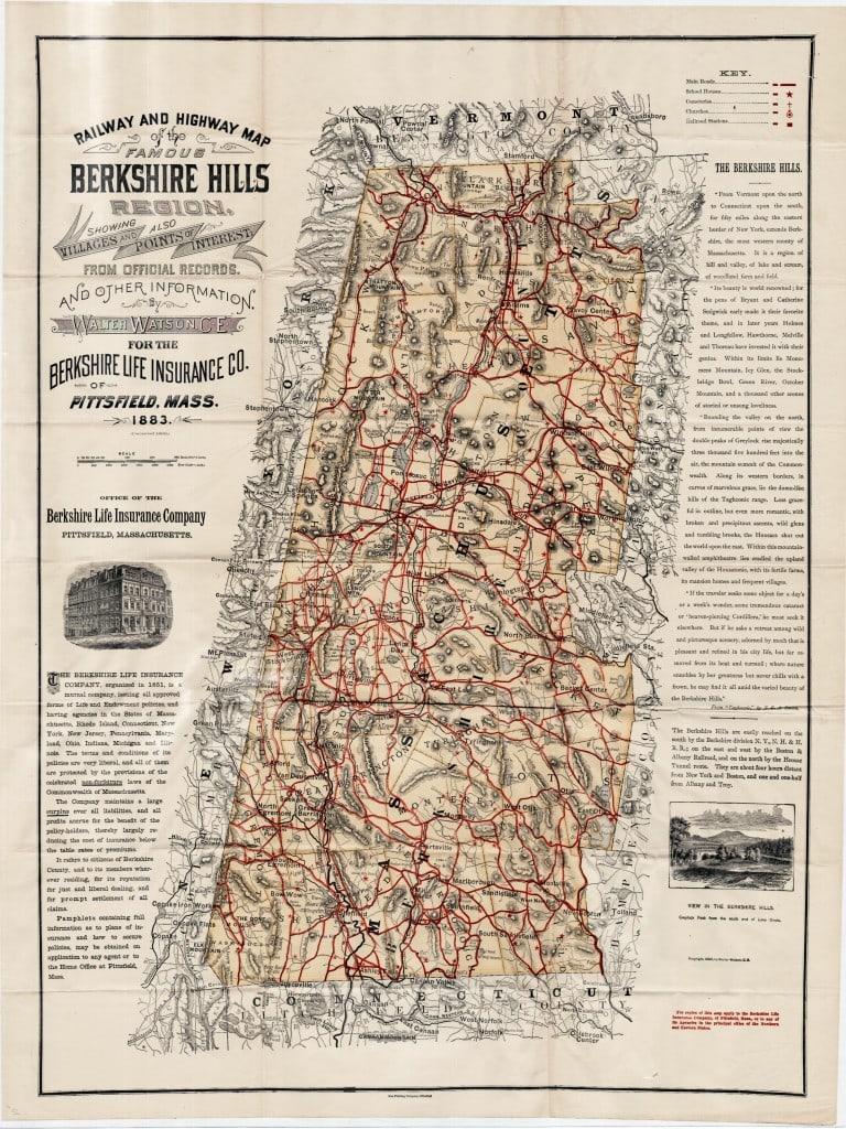 "The ""Famous Berkshire Hills"""