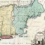 Homann, Joh[annes] Baptista, Nova Anglia Septentrionali Americae… Nuremberg, [ca. 1716/ ca. 1730].