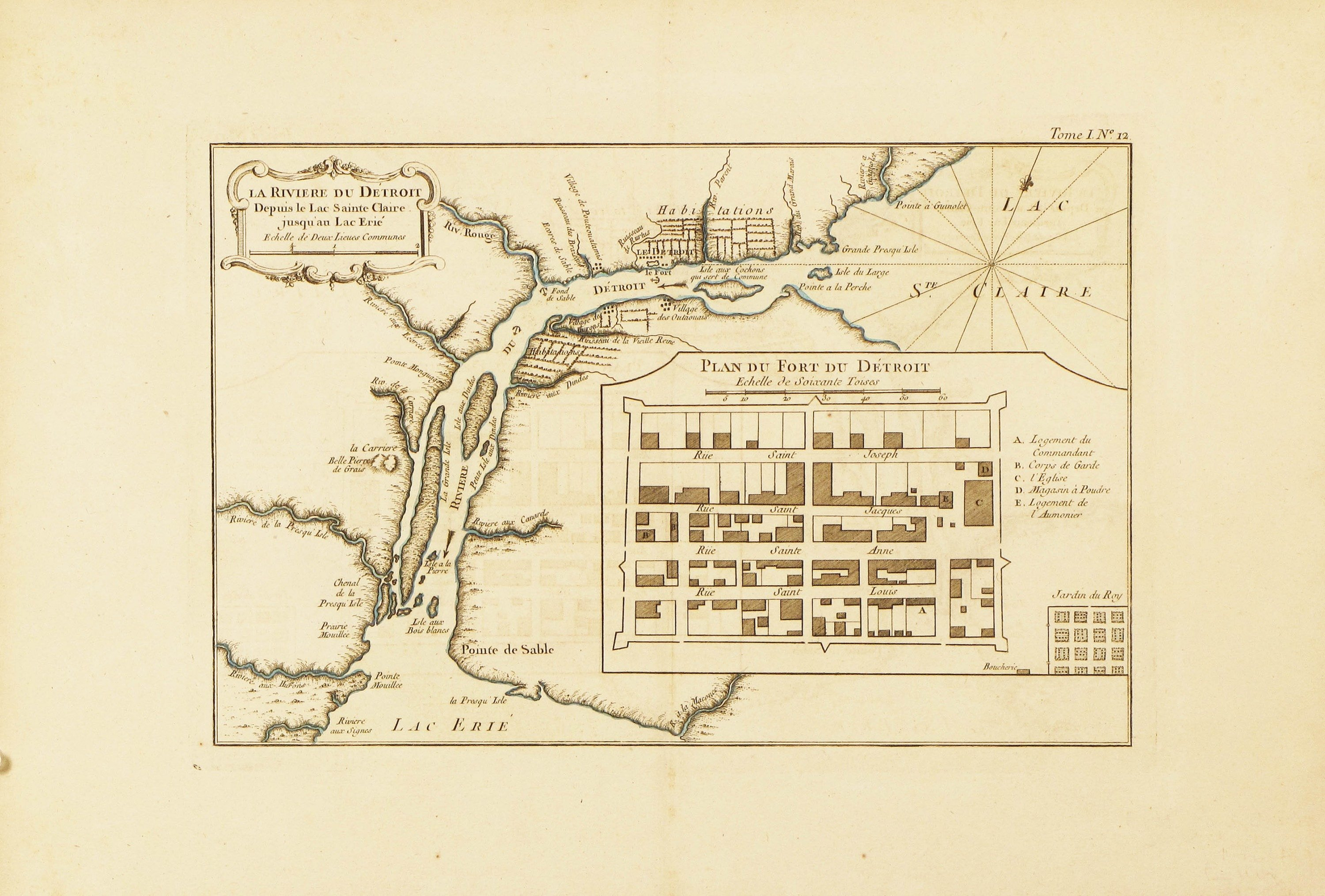 The first published map of Detroit - Rare & Antique Maps on memphis map, united states map, duluth map, chicago map, toronto map, henry ford hospital map, royal oak map, great lakes map, cincinnati map, compton map, michigan map, las vegas map, pittsburgh map, atlanta map, quebec map, baltimore map, highland park map, usa map, st louis on map, new york map,