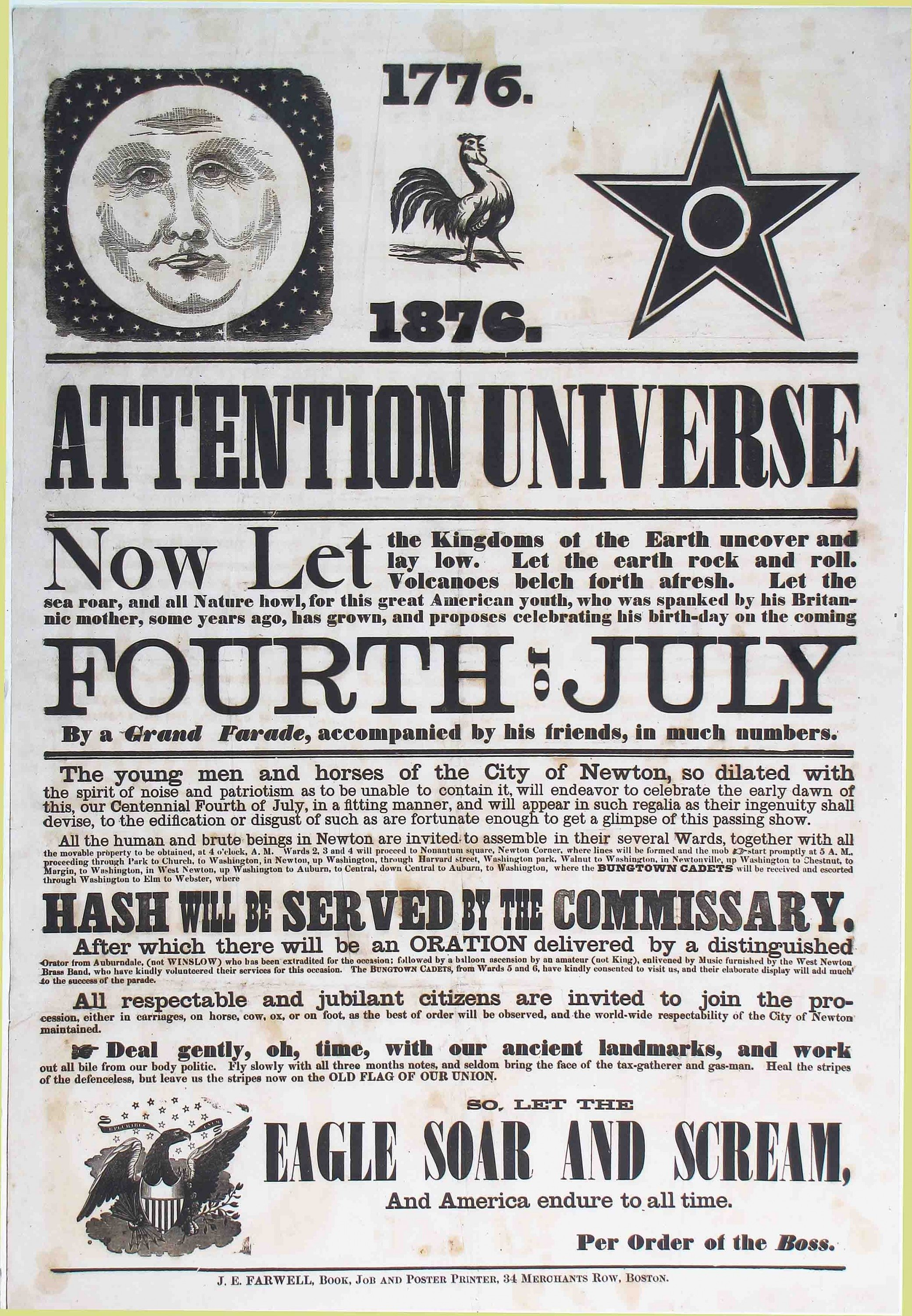 Attention Universe!