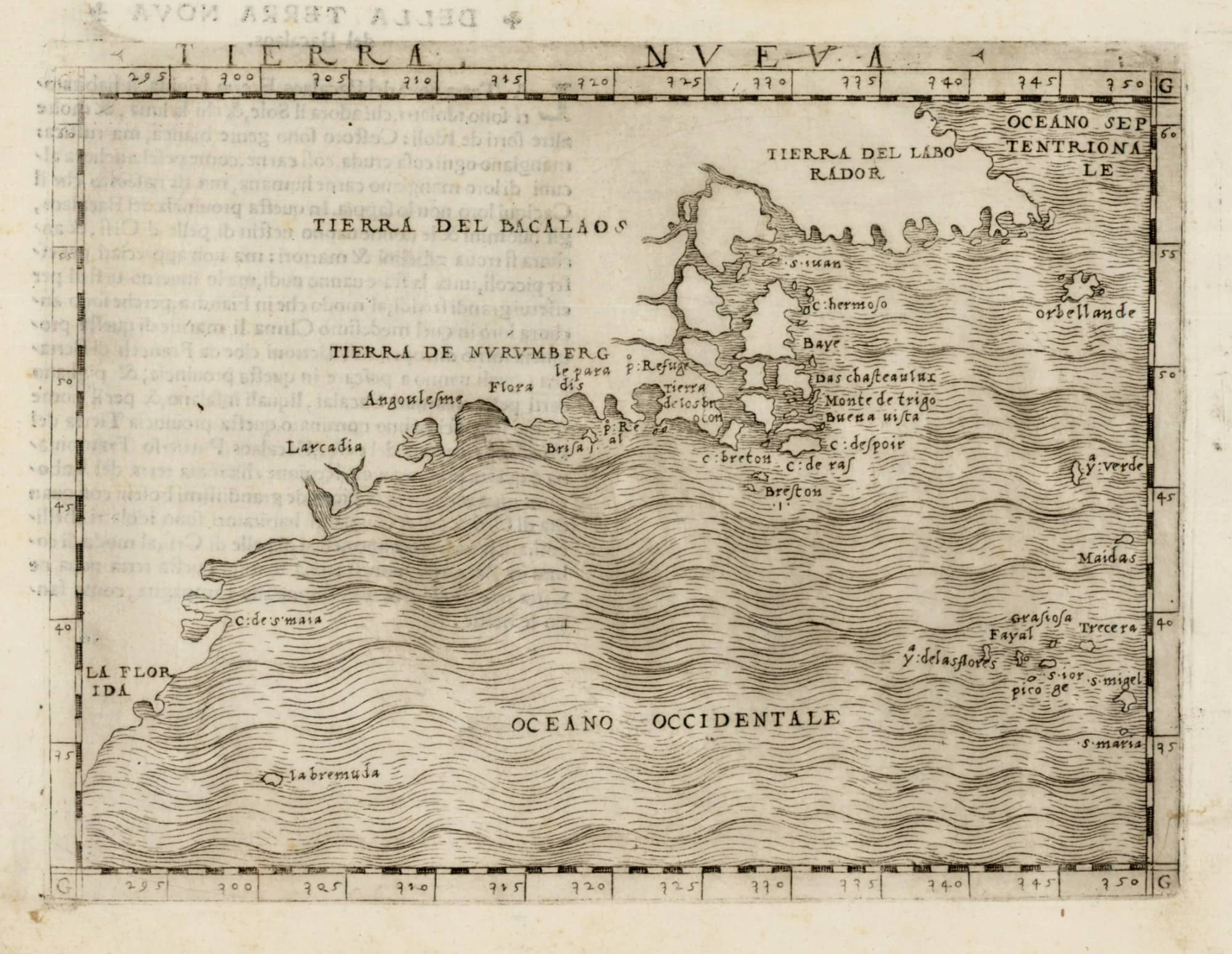 A Map Of Firsts For The American East Coast Rare Antique Maps