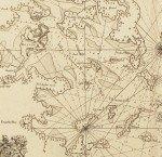 Gold Rush-era chart of California by James Imray