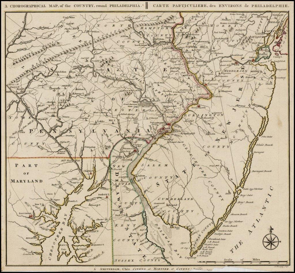 A Revolutionary-War rarity by Bernard Romans - Rare & Antique Maps