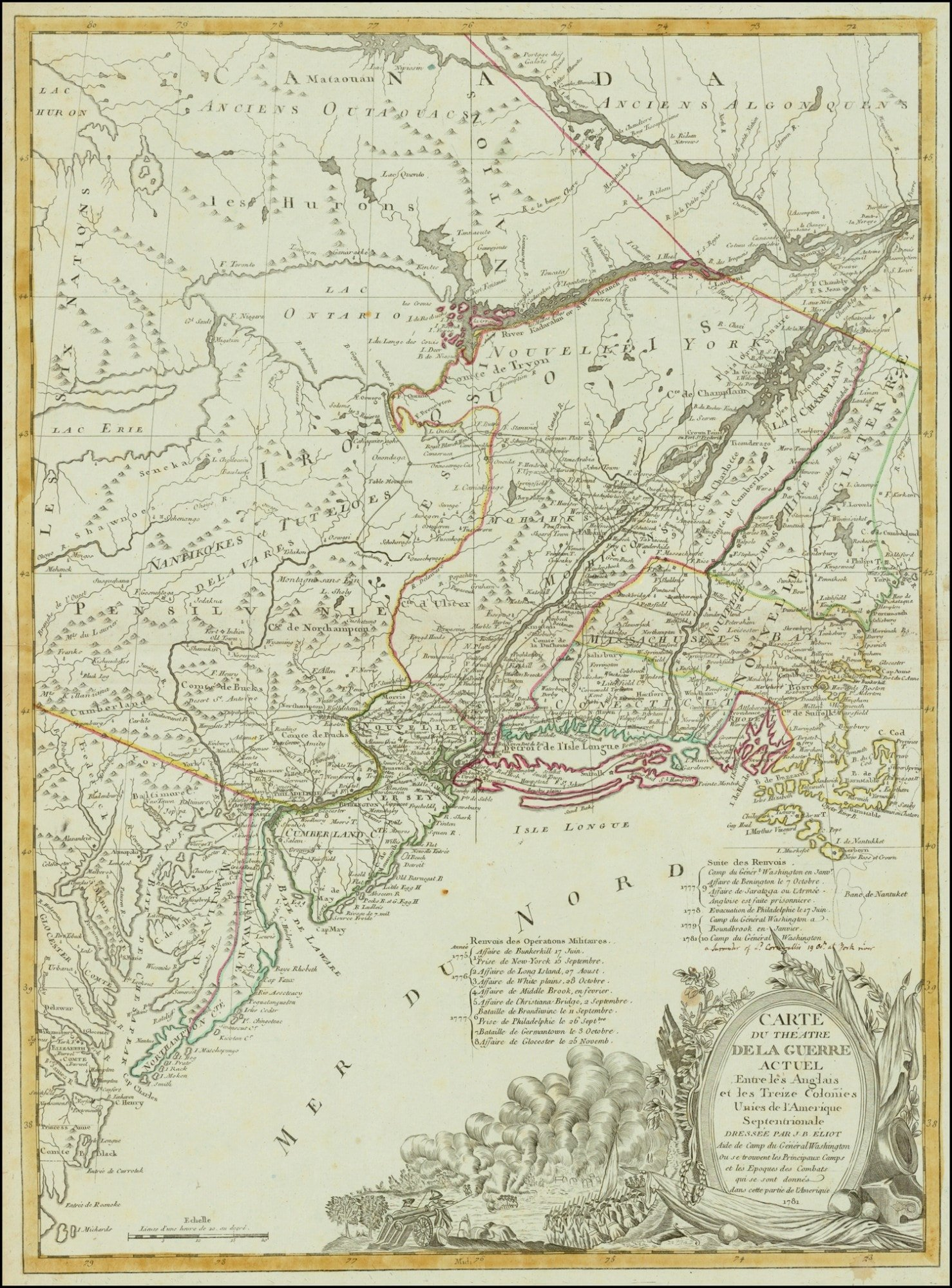 The Eliot Map Of The Young United States Rare Antique Maps - Boston us map