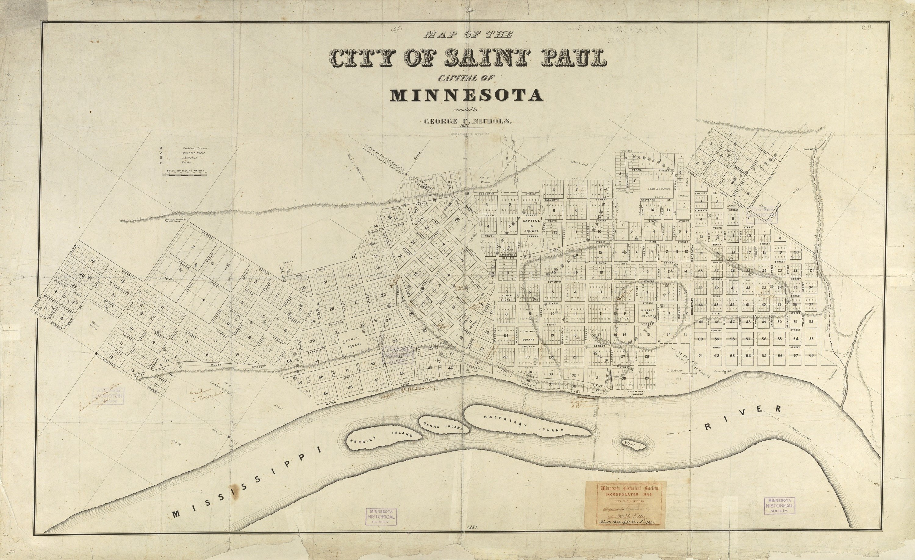 Saint Paul City Map