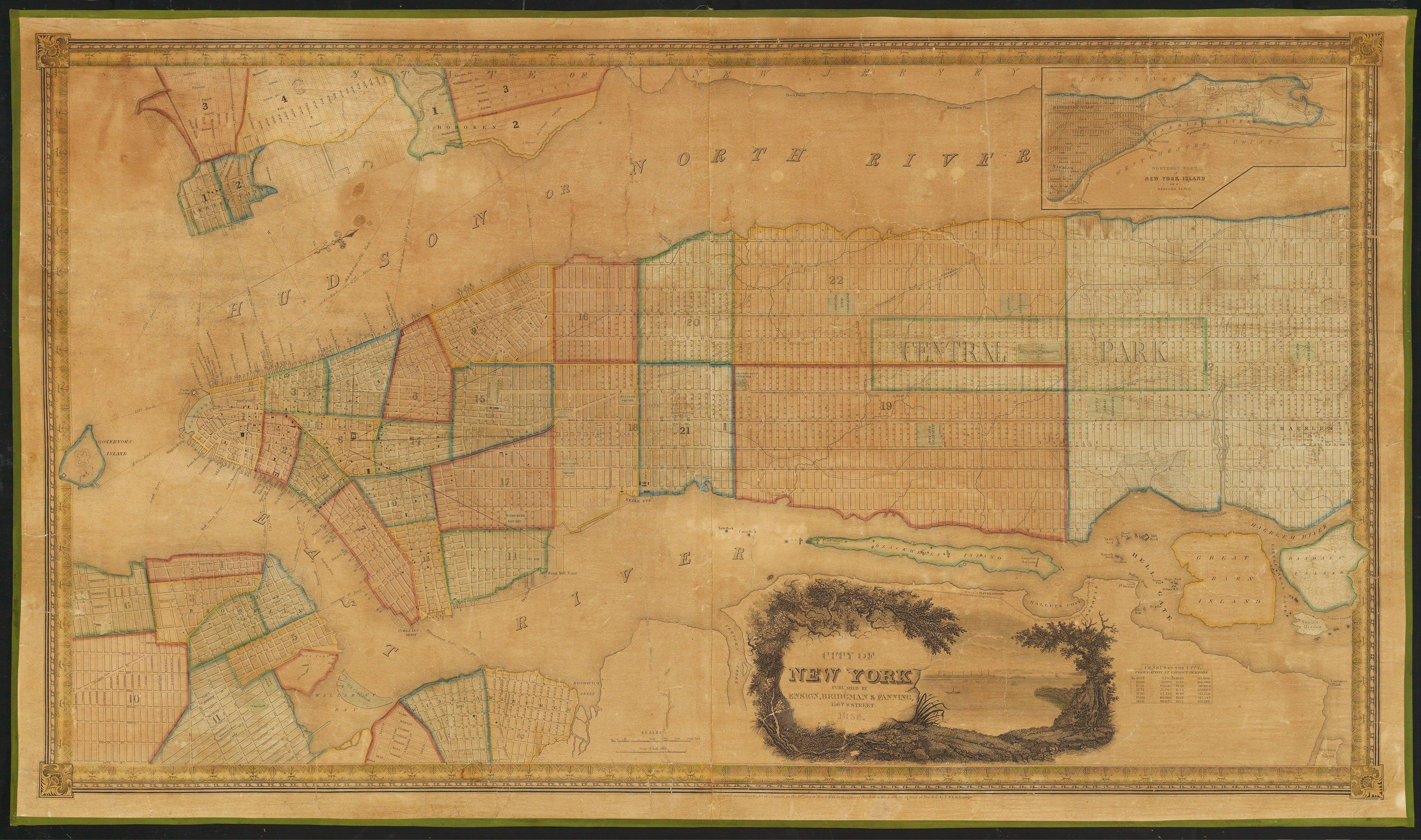 An Impressive Manhattan Map
