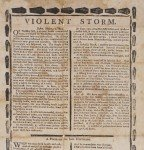 A sailor's woeful tale on a striking illustrated broadside