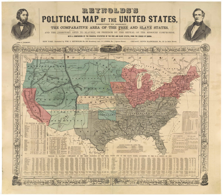 First Kansas Then Rare  Antique Maps - United states map of missouri