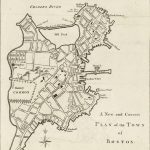 NA, A New and Correct PLAN of the TOWN of BOSTON. London, October-November 1775