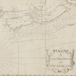 [Cyprian Southack?], A Correct Map of the Coast OF NEW ENGLAND. London, [1745-1760].