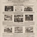 Slave Market of America abolition broadside