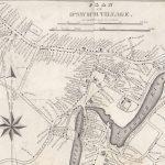 1832 map of Ipswich Village, Massachusetts