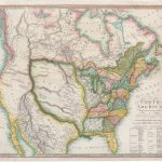 Image of the first map to depict the Louisiana Purchase in full