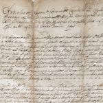 1671 slave trade contract between Boston and Maryland merchants