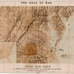 A striking and unusual depiction of the seat of Civil War in the Middle Atlantic States, extending from the southern reaches of New Jersey and Pennsylvania to northern Carolina, and west to the Ohio River watershed.