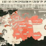 [ gulag ] [Sylwester Mora & Piotr Zwierniak,] MAP OF CONCENTRATION CAMPS IN SOVIET RUSSIA. [Rome: Wlochy, 1945.]
