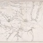 1781 William Faden plan of the Battle of Yorktown