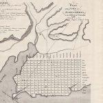 1798 plan of Alexandria Virginia