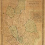 A rare case map of Toledo Ohio from 1852