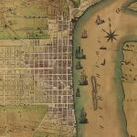 1796 Charles Varle plan of Philadelphia