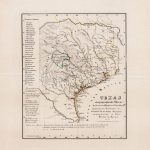 1847 Adelsverein map of Texas