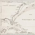 An 18th-century Gulf Stream chart, with a Ben Franklin connection