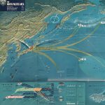 Designed by Bureau of Naval Personnel Training Aids / U.S. Government Printing Office, Nav War Map No. 4 / THE NORTH PACIFIC AREA. Washington: Bureau of Naval Personnel, Navy Dept., 1944.