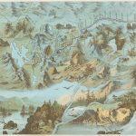 Magnificent 1882 bird's-eye view of Provincetown Massachusetts