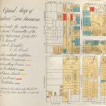 1885 anti-Chinese map of San Francisco Chinatown