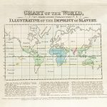1825 map of the Impolicy of Slaverey