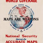 "1942 U.S. Army ""Maps Are Weapons"" poster"