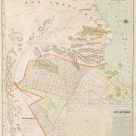 Ca 1892 Rand McNally map of South San Francisco