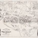 Iconic bird's eye view of Mount Washington