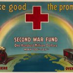 "1918 Red Cross ""Make Good the Promise"" poster for its Second War Fund drive"