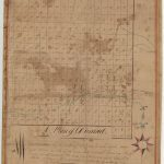 Ca 1820 survey of Durand, now Randolph New Hampshire