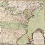 1784 Brion de la Tour CARTE DES ETATS-UNIS D'AMERIQUE, et DU COURS DU MISSISSIPI