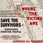 1918 poster seeking relief for victims of the Armenian Genocide