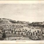 CAMP APACHE, ARIZONA. NP, Aug. 5th 1876 the future Fort Apache