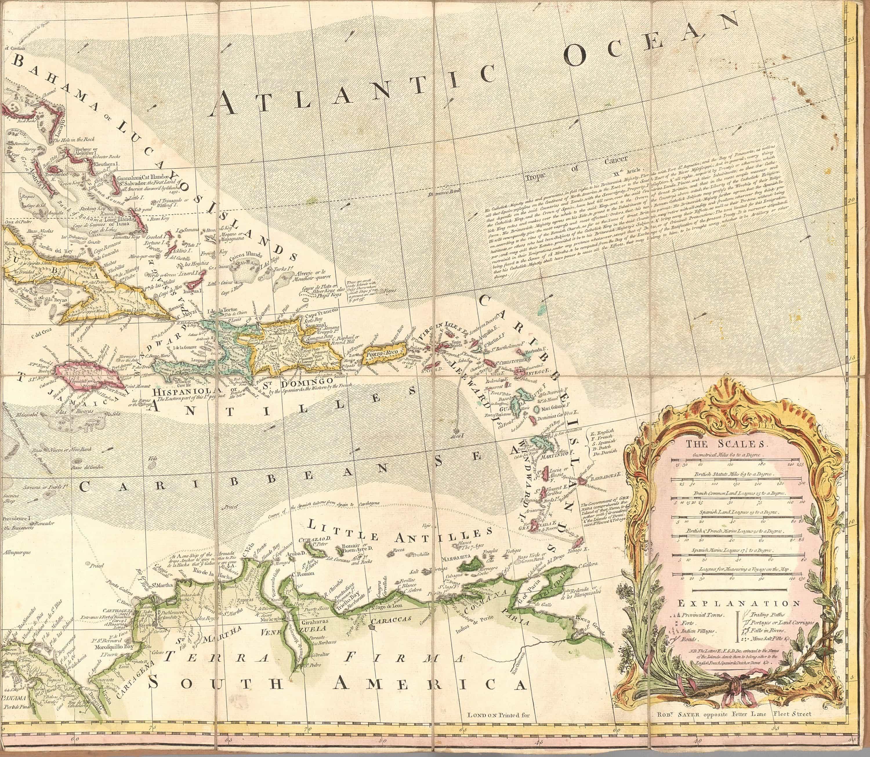 The 1763 Treaty Of Paris Rewrites The Map Of North America Rare