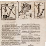 Evan Evans / Oliver Evans / F[rancis] Shallus, Engraver No. 89 South Front St. Phil[adelphi]a, CYDER OR TOBACCO PRESS. [:] EVAN EVANS'S STRAW-CUTTERS. [:] MARS WORKS
