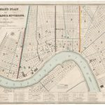 Henry Moellhausen, NORMAN'S PLAN OF NEW ORLEANS & ENVIRONS, 1845