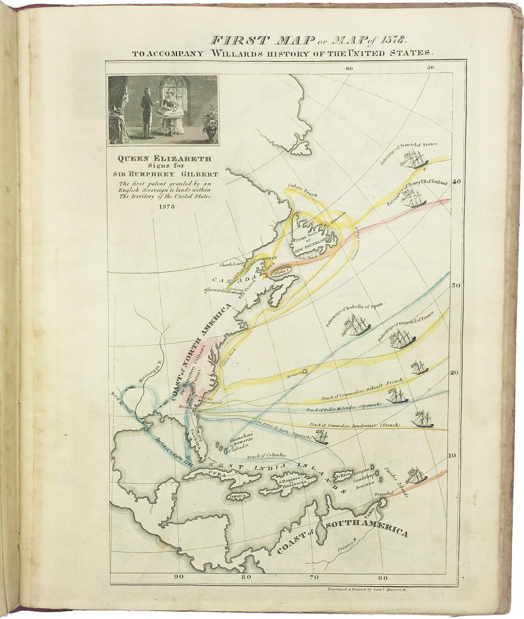 A landmark historical atlas by Emma Willard, America\'s first female ...
