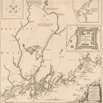 1755 Thomas Johnston A PLAN of Kennebec & Sagadahok Rivers, with the adjacent Coasts : taken from Actual Surveys
