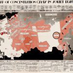 1945 gulag MAP OF CONCENTRATION CAMPS IN SOVIET RUSSIA